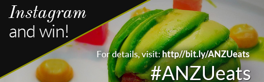 #ANZUeats: Share your Foodie Pics on Instagram to Enter and Win!