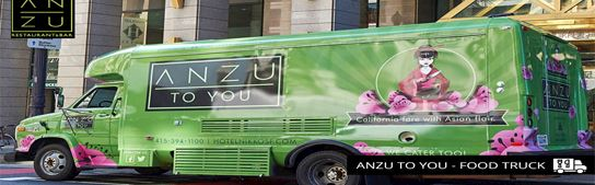 San Francisco Food Truck Scene - ANZU To YOU by Hotel Nikko